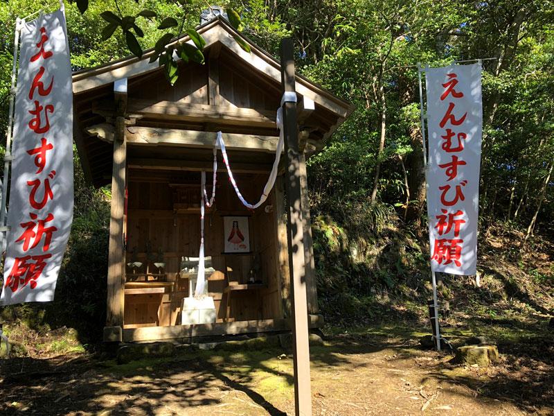 小松寺「白山社」の祠
