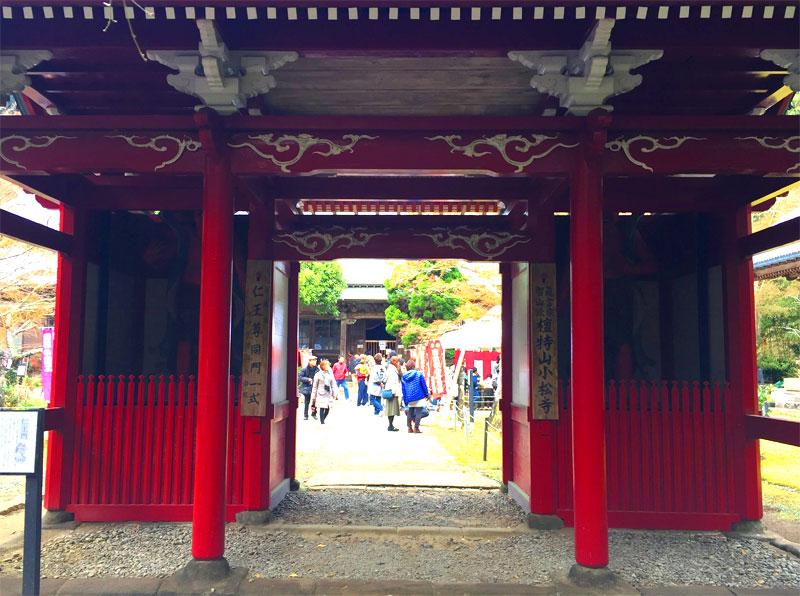 小松寺の仁王門
