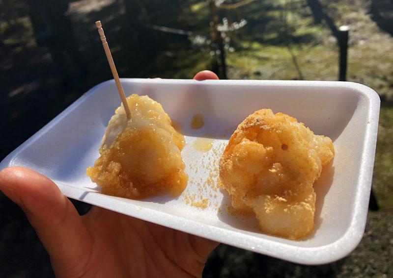小松寺「もみじ祭り」の餅