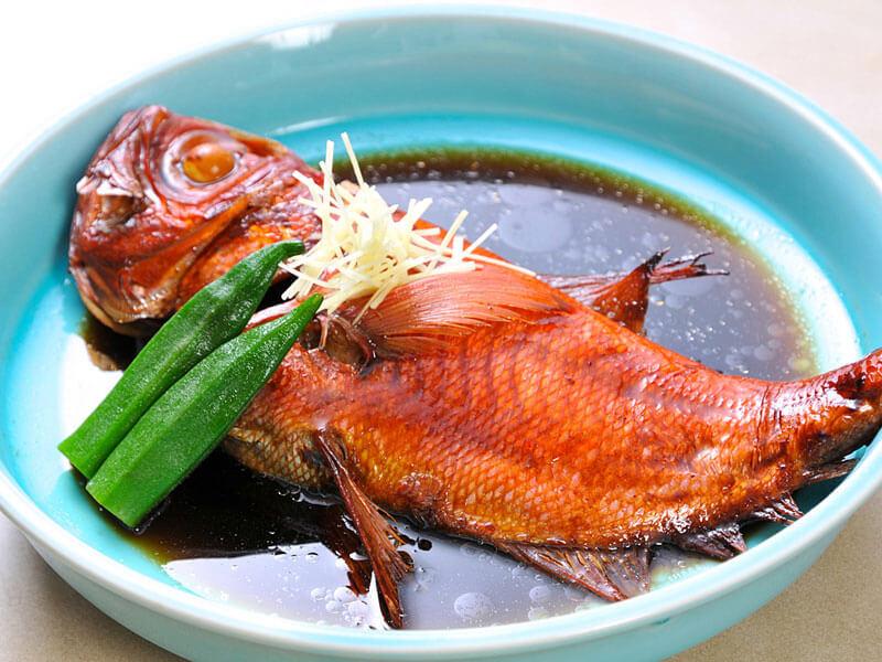 ホテル南海荘の金目鯛の姿煮