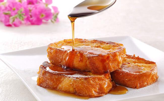 白浜オーシャンリゾートで朝食に食べられる手作りフレンチトーストは名物